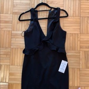 Never worn black Jay Godfrey gown